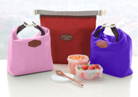Iconic Insulated Lunch Bag Pouch tas bekal makan tahan panas - BD50
