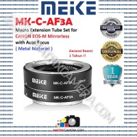 MEIKE MK-C-AF3A Macro AF Extension Tube Set for Canon EOS-M Mirrorless