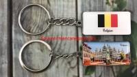 Gantungan Kunci Brusels Souvenir Belgia