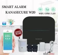 Paket Alarm rumah canggih anti maling kanasecure W20