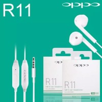 Handsfree Headset Earphone Oppo R11 Original