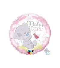18 Inch Tiny Tatty Baby Girl Foil Balloon | Balon Foil Baby Shower