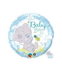 18 Inch Tiny Tatty Baby Boy Foil Balloon | Balon Foil Baby Shower
