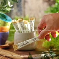 Singabera Organic Coconut Sugar Gula Kelapa Organik Pouch Box 1 pcs