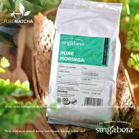 Singabera Teh - Pure Moringa 100gr Tisane Tea Daun Kelor Herbal Murni