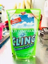 Cling Pembersih Kaca APPLE FRESH Refill 425 ml | Cling 425ml Murah