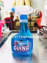 Cling Pembersih Kaca OCEAN FRESH Semprot 440 ml | Cling Spray 440ml