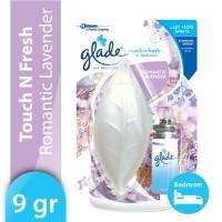 Glade Touch N Fresh Romantic Lavender Bullet 9gr - Pengharum Ruangan