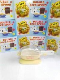 Centong nasi double dengan penutup sendok anti lalat Berkualitas