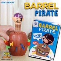 Crazy Pirate Roulette Game - Pop Up Pirate - Lucky Barrel (MIN-49)
