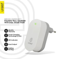UNEED Smart Travel Charger Fast Charging Dual USB Port - UCH111