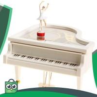 Kotak Musik ( Music Box ) Piano Balerina Ukuran besar Ori High