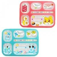 Yooyee Yoyee Kotak Makan Grid Bento Lunch Box Sekat 6 Anti Bocor 589