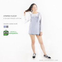 Cotton Inch - Striped Flecky | Overall tees | Blouse