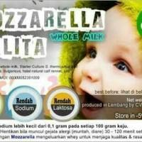 keju mozarela bayi/balita