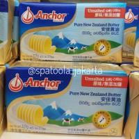 Unsalted Butter Anchor 227gr. Mentega New Zealand ASLI Termurah