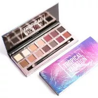 FOCALLURE 14 Colors Matte Glitter Shimmer Tropical Vacation Eyeshadow