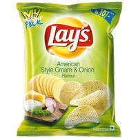 lays american style cream and onion flavor
