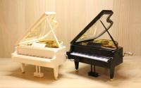 Kotak Musik Music Box Love Piano Putar Mekanik Romantis Kado Hadiah