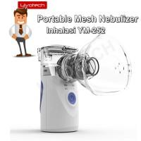 Portable Mesh Nebulizer Alat Uap Bantu Pernafasan Asma Inhalasi YM-252