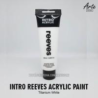 Cat Acrylic Intro Reeves Titanium White 120 ml