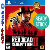 PS4 Red Dead Redemption 2 / II Region 3