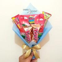 buket snack, snack bouquet, hadiah wisuda ulang tahun