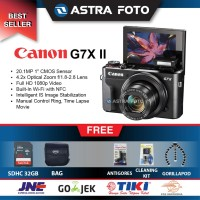 Canon Powershot G7X Mark II / Canon G7x Mark II Paket 32gb