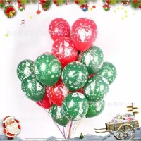 Balon Latex Merry Christmas / Balon Natal