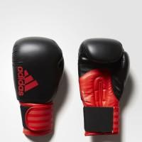 Sarung Tinju Muaythai Muay Thai Adidas Hybrid 100 Black Red