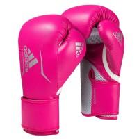 Sarung Tinju Muaythai Adidas Speed 100 Boxing Gloves Pink