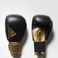 Sarung Tinju Muaythai Muay Thai Adidas Hybrid 100 Black Gold