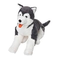 IKEA LIVLIG Boneka, anjing husky, siberian husky