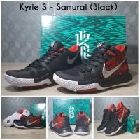 [FREE SHOES BAG]Sepatu Basket Kyrie 3 Samurai / Nike / Adidas / UA