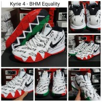 [FREE SHOES BAG]Sepatu Basket Nike Kyrie 4 BHM Equality / Irving