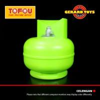 Celengan Money Deposit Tabung Gas 3 Kilo Green BAGUS DAN MURAH