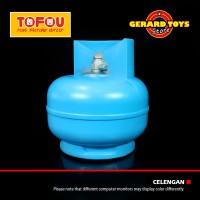 Celengan Money Deposit Tabung Gas 3 Kilo Blue BAGUS DAN MURAH