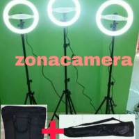 Ringlight LED 32cm Lampu Rias Make Up Ring Light Komplit Set Murah