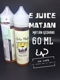 E-Liquid Premium LOKAL e-Juice Matjan Gedhang 60ml 3mg - authentic