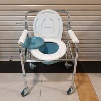 Kursi BAB Commode Chair GEA FS 696 + Roda