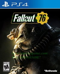 PS4 Fallout 76 Internet Required (R3 / Region 3 / English, PS 4 Game)