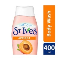 ST IVES Body Wash Apricot Exfoliating 400ml