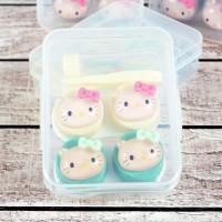 Tempat Softlens Hello Kitty Timbul Softlens case Box