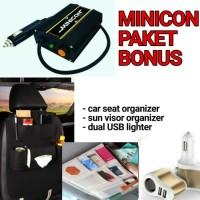 Minicon Alat Penghemat Stabilizer Listrik BBM Mobil Bensin