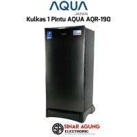 Kulkas Aqua AQR-D190-S [1 Pintu]