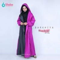 Jas Hujan Muslimah Sheba Barkhiya Zine GreyModel Gamis