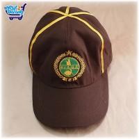 Topi Seragam Pramuka Siaga Strip Kuning