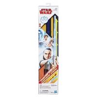 Star Wars Rey(Jedi Training) Force Spring-Action Electronic Lightsaber