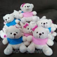 Boneka teddy bear/boneka wisuda/souvenir ultah/kado