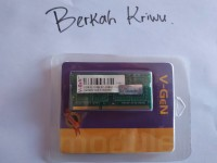 RAM / Memory Laptop DDR3 V-GEN 2 GB PC-12800 1600 Mhz